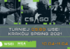 Turniej CS:GO WSEI Kraków Spring 2021