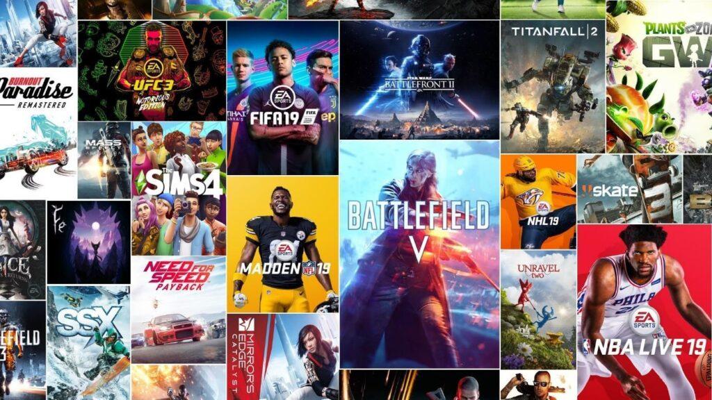 Origin EA Sports gry