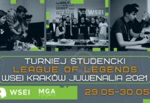 Turniej studencki League of Legends WSEI Kraków Summer 2021