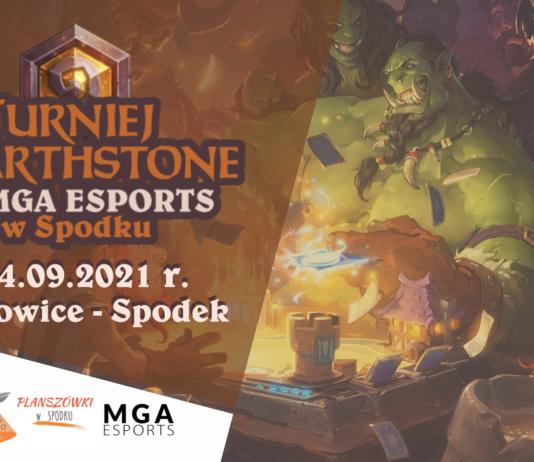 Turniej Hearthstone by MGA esports w Spodku 2021